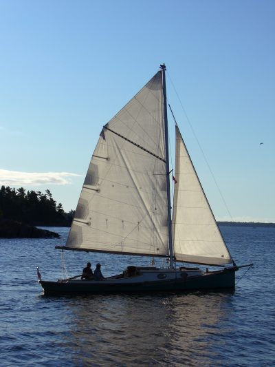 Gypsy M in the North Channel.