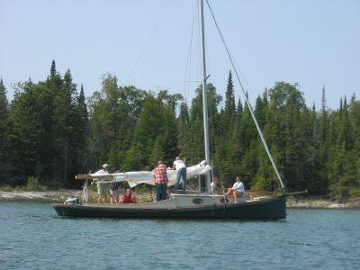 Preparing to set sail aboard Gypsy M.