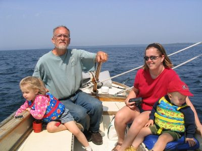 Fun sailing for all ages.