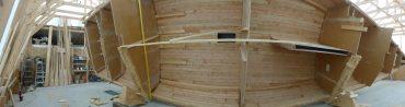 Building Schooner Huron Jewel Video