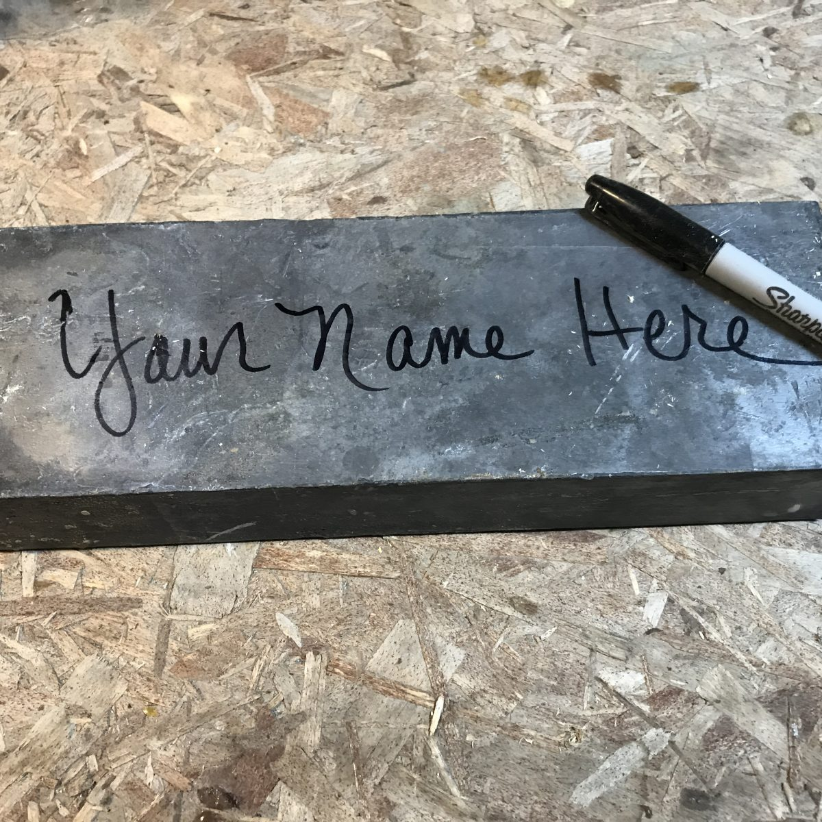 Name your brick - get your name on history!