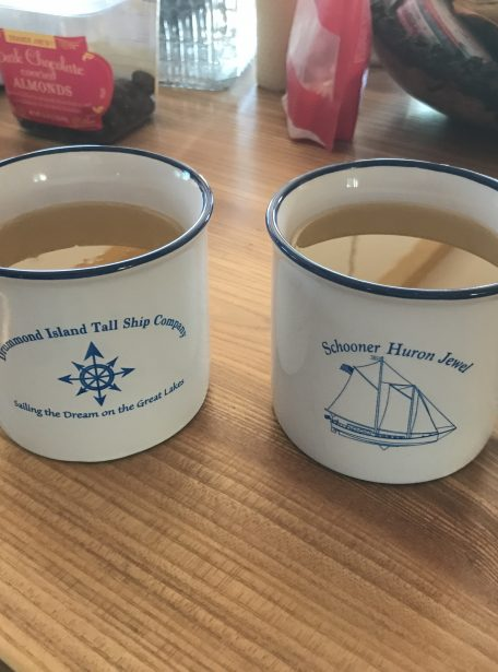 Schooner Huron Jewel Mugs
